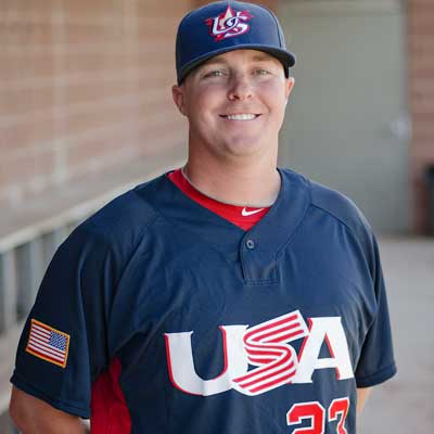 Jonathan Pollard, #23, USA Baseball