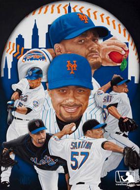 Johan Santana of the New York Mets