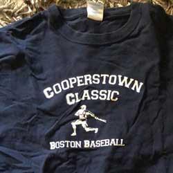 2008 Cooperstown Tee Shirt