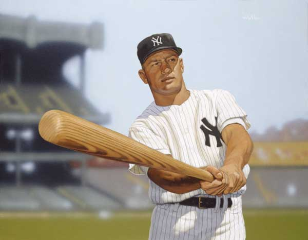 Arthur K. Miller, Mickey Mantle of the New York Yankees