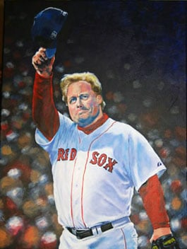 "Kevin McNeil, Curt Schilling of the Boston Red Sox: ""Last Pitch"""