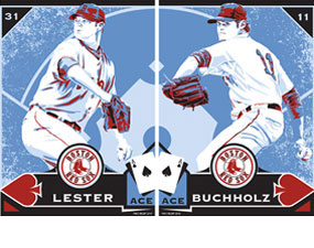 "Chris Speakman, Jon Lester & Clay Buchholz: ""Aces"""