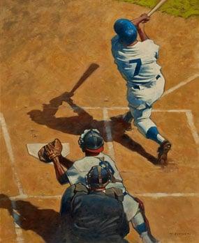 Gary Davis, Mickey Mantle of the New York Yankees