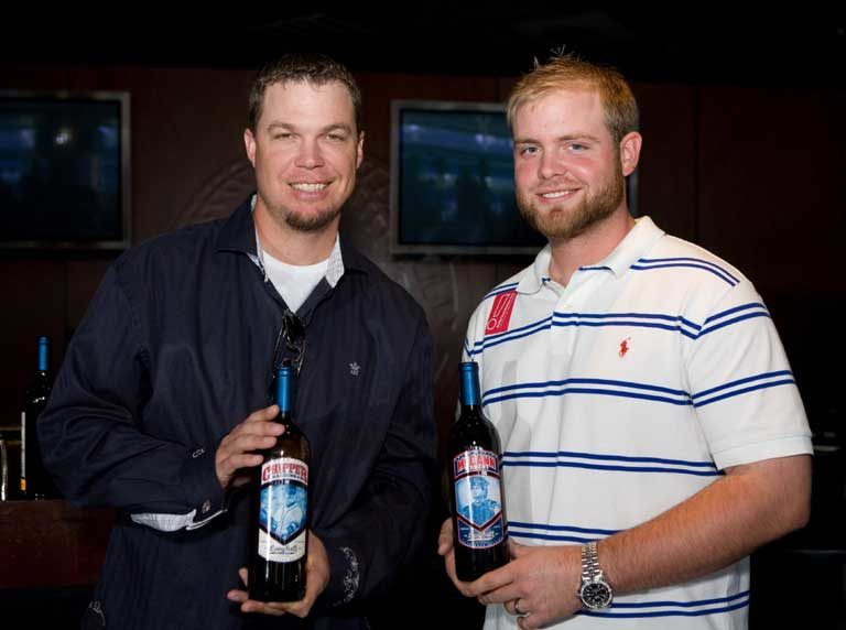 Chipper Jones and Brian McCann Charity Wines
