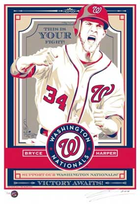 "Chris Speakman, Bryce Harper of the Washington Nationals: ""This is Your Fight"""