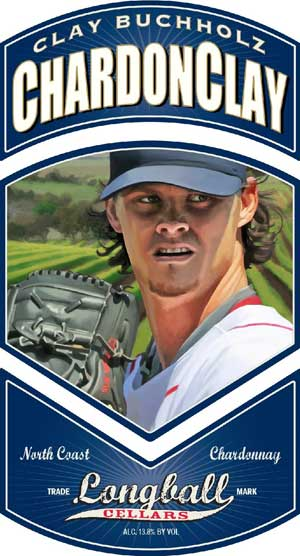 Clay Buchholz, ChardonClay wine