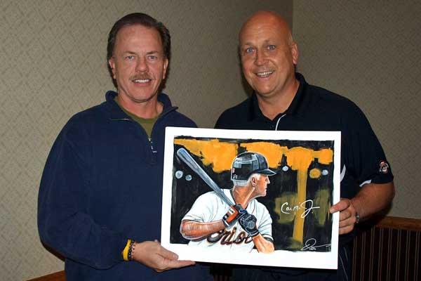Dave Olsen with Cal Ripken