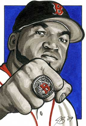 "David Ortiz, ""Bammm!"" by Jon Banchick"