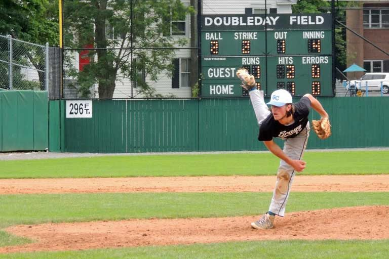 Doubleday Field pitcher