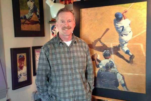 Sports Artist Gary Davis