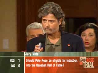 Jim Holmwood on Pete Rose Jury