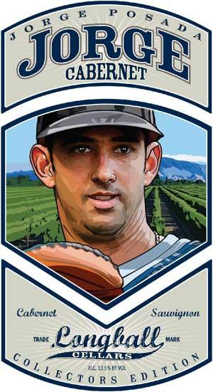 Jorge Posada, Jorge Cabernet wine