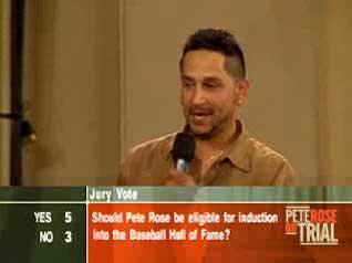 Jose Medina on Pete Rose Jury