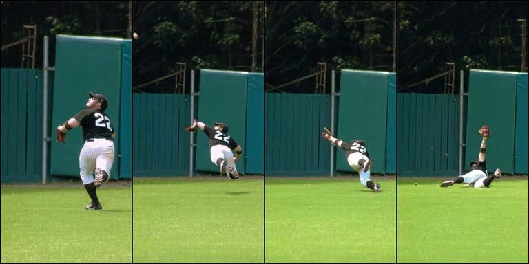 Mike Pollak, Ben's Dream White Sox - The Catch