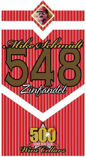 Mike Schmidt 548 Zinfandel