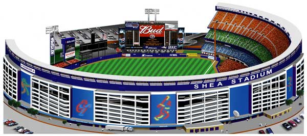 Shea Stadium, by Jon Banchick