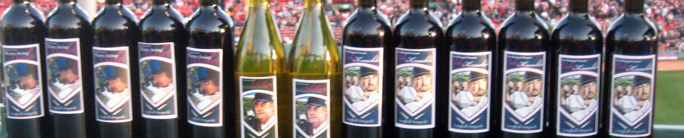 2007 Boston Red Sox Wine Bottles