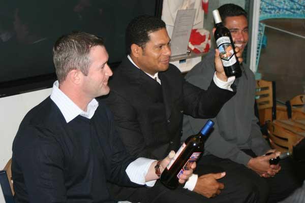 New York Yankees Wine Launch