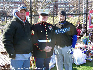 Smokey Moore & Ryan Bere with the USMC
