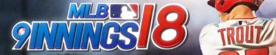 MLB 9 Innings 18 - header