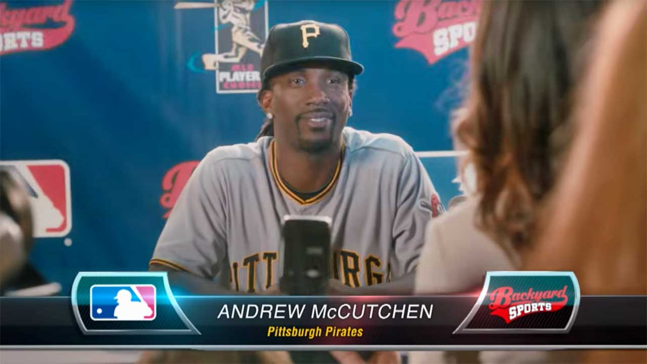 Andrew McCutchen - Backyard Sports