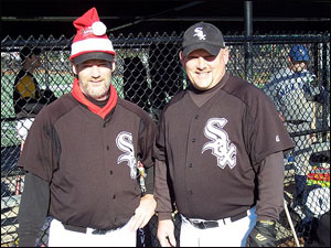 "James ""Santa"" Barnes and Smokey Moore"