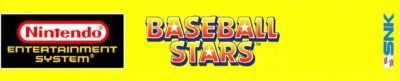 Baseball Stars by SNK - header