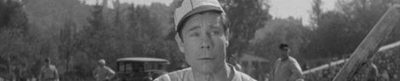 Elmer, the Great - baseball movie header
