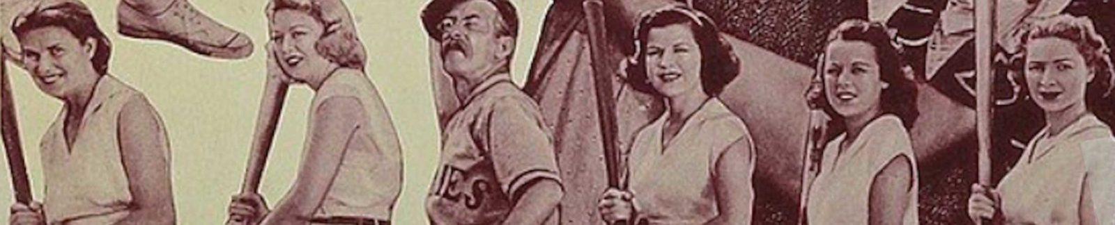 Gracie at the Bat - baseball movie header
