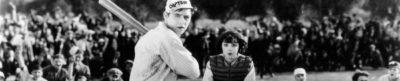 The Busher - baseball movie header