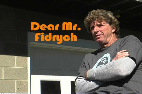 Dear Mr. Fidrych