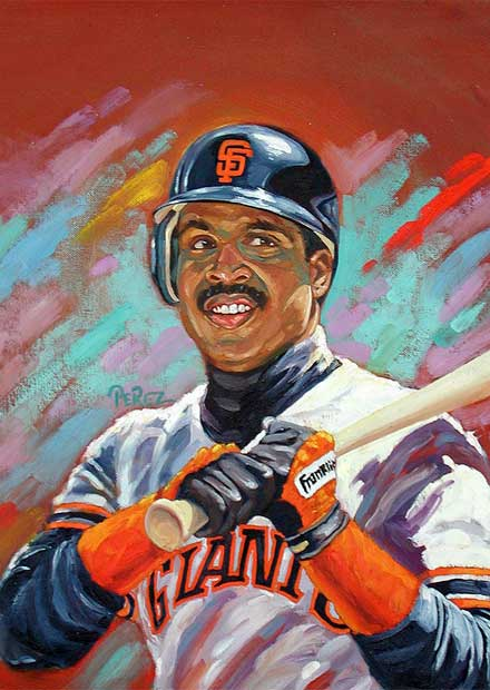 Dick Perez: Barry Bonds