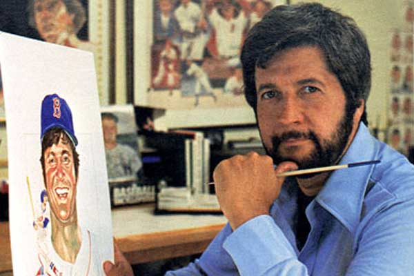 Dick Perez painting a Diamond King
