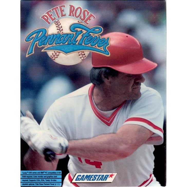 Pete Rose Baseball Fever