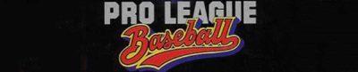 Pro League Baseball - header