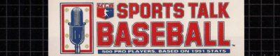 Sports Talk Baseball - header