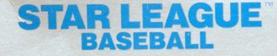 Star League Baseball - header