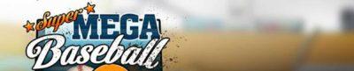 Super Mega Baseball - header