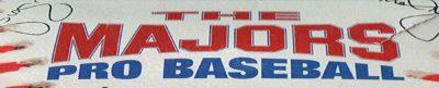 The Majors Pro Baseball - header