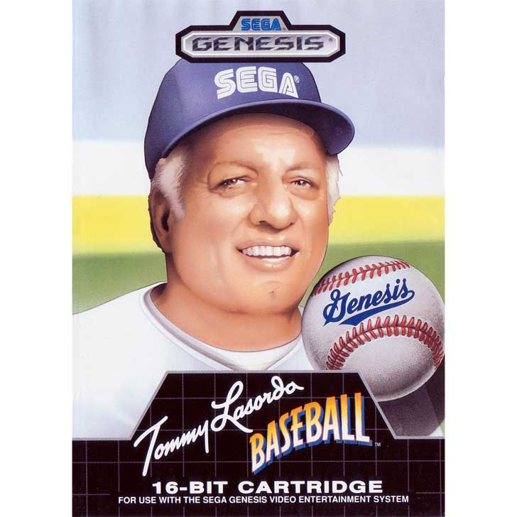 Tommy Lasorda Baseball for Sega Genesis