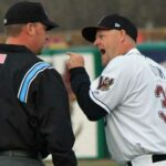 Arguing with Baseball Umpire