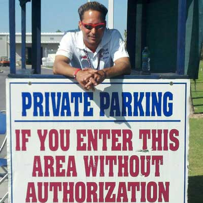Paul Anderson, Boston Red Sox, and private parking