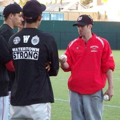 Watertown Baseball, Head Coach Aram Manoukian