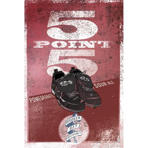 5 Point 5 - Broken Bat Brewing Co.