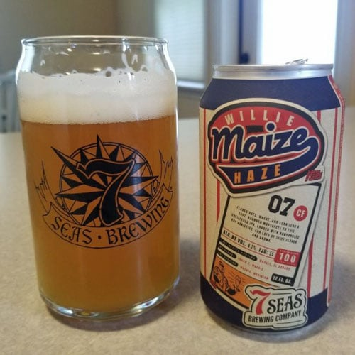 Willie Maize Haze - 7 Seas Brewing