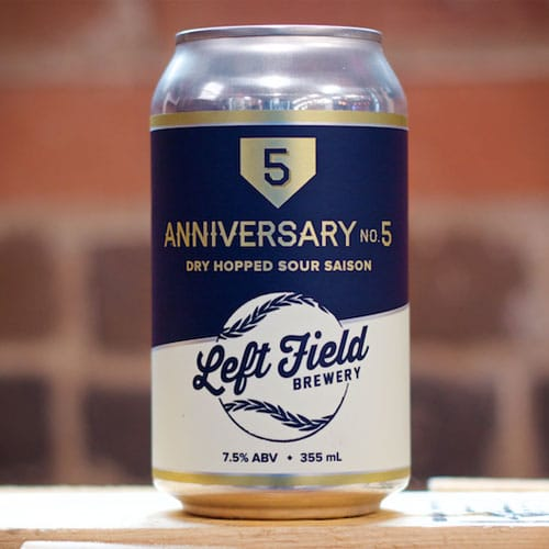 Anniversary No. 5 - Left Field Brewery