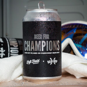 Beer for Champions - Left Field Brewery