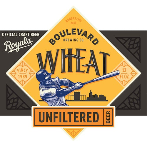 Unfiltered Wheat by Boulevard Brewing – batter artwork