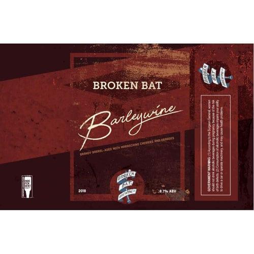 Brandy BA Barleywine - Broken Bat Brewing Co.