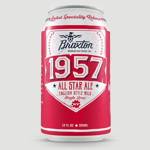 1957 All Star Ale - Braxton Brewing Co.